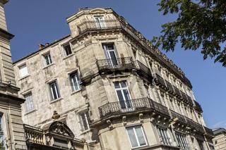 Historisches Gebäude in Montpellier, Südfrankreich