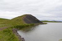 Pseudokrater am Myvatn, Island