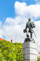 Ferdinand Magellan Statue Lisbon Portugal