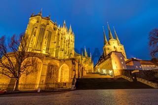 Der Erfurter Dom und die Severikirche