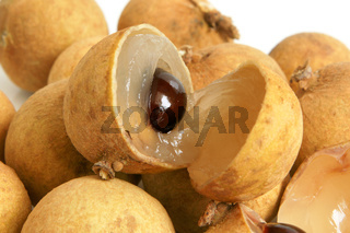 Close up of longan