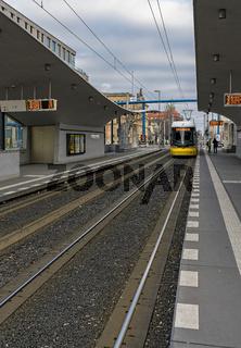 Tram Station Hauptbahnhof Berlin