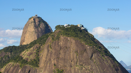 Sugar Loaf Mountain, tourist attraction of Rio de Janeiro