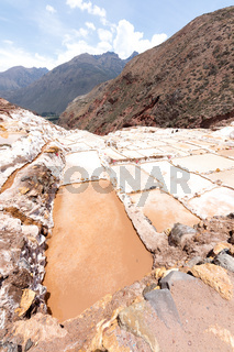 The salt flats of Maras