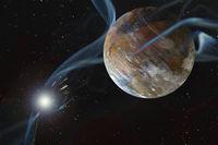 Rocky Dry Alien Planet