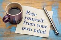 Free yourself from your own mind