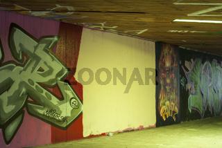 Reservierte Graffitiflaeche, Schwaebisch Hall