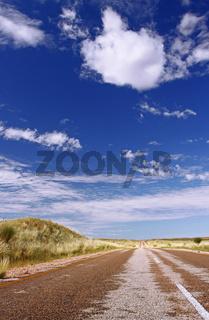 Allein auf den Straßen Südafrikas; alone on South Africas streets
