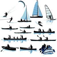 Boote Wassersport.eps