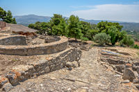 Archaeological site of Phaistos on Crete, Greece