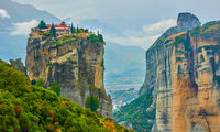 The Holy Trinity monastery in Meteora