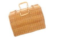 geflochtener Koffer