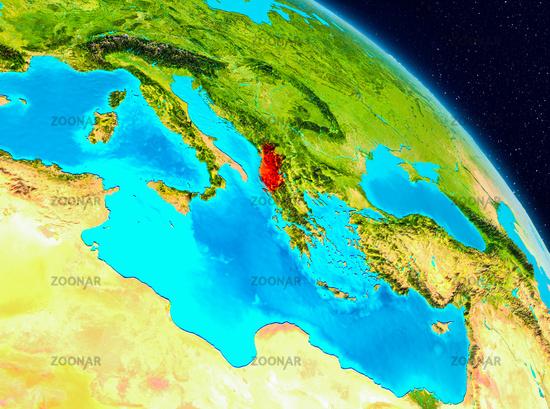 Albania on Earth