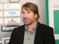Steffen Stiebler (SC Magdeburg) beim DHB Medientag 10.10.2017 in Magdeburg