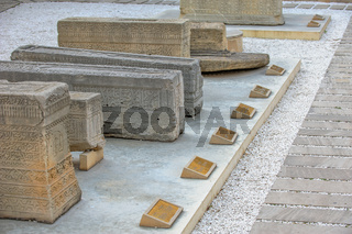 Lapidarium in old city, Baku, Azerbaijan