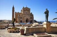 Die Wallfahrtskirche Ta'Pinu auf Gozo