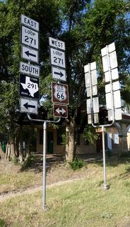 Route 66 Wegweiser