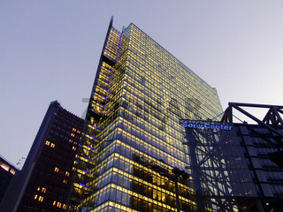 DB Tower und Sony Center, Deutschland, Berlin