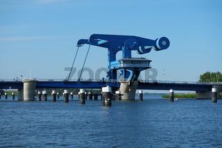 Die Peenebrücke Wolgast