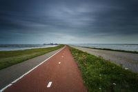 Weg zum Hafen Schiermonnikoog