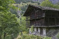 Traditioneller Baustil im nördlichen Piemont
