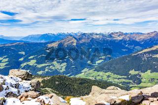 View from Astjoch in South Tyrol