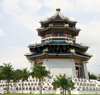 Pagoda. Traditional Chinese Temple