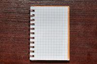 Notebookon a desk