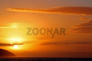 Sonnenaufgang im Tsitsikamma Nationalpark