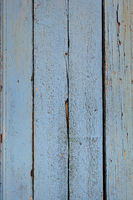 Old wood board painted blue