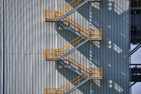 Industrial Exterior Staircase
