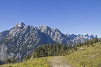 Wandern im Karwendelgebirge