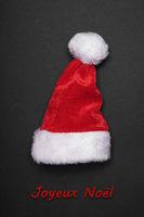 Joyeux Noel french christmas greeting card
