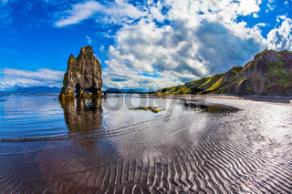 The coast of Iceland