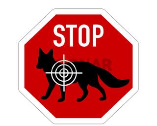 Stop Fuchs Ziel