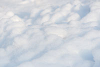 Fresh snow dunes