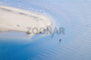 Fischkutter vor Langeoog