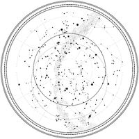 Astronomical Celestial Map