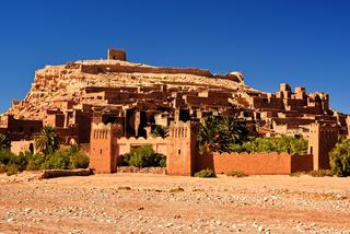 Ait Benhaddou, Kasbahs near the city of Warzazat, Morocco