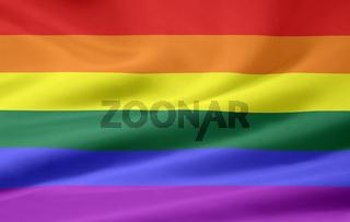 Gay Pride Flagge