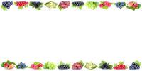 Beeren Erdbeeren Himbeeren Trauben Weintrauben Früchte Textfreiraum Copyspace
