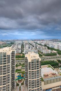 Xiamen Binhai New Town in China