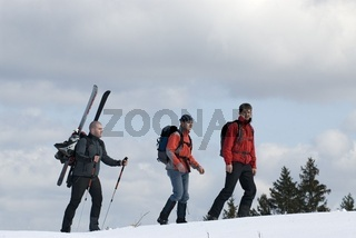 Winterliche Wanderung