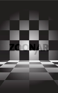 background with chessboard