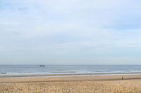 Dutch beach at Northsea