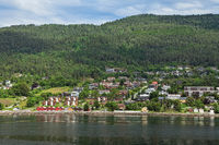 City of Molde seen from the sea, Norway