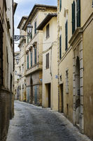 Narrow street in San Severino