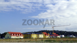 Neubausiedlung / new houses