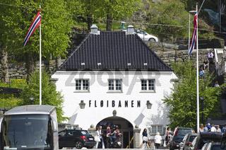 Floibahn, Bergen