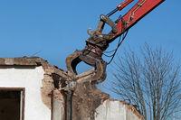 Gebäude Abbruch